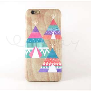 Boho Pastel Teepees iPhone 6 / 6S Cover