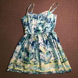 Portmans Floral Dress (Size 8)