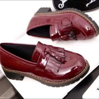 Tassel Loafers Shoes (glossy)
