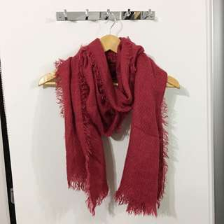Cotton On - Red Scarf