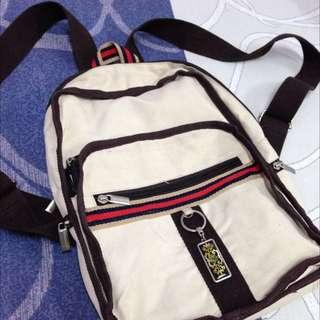 ti:zed® Korean Beige Travel Bag Pack