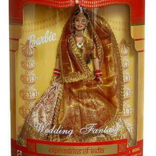 "❗️SALE❗️Barbie Wedding Fantasy ""Expressions of India"" Doll"
