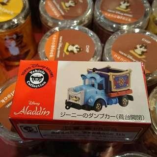 🚚 夏趴。日本迪士尼樂園限量 阿拉丁神燈 多美小汽車