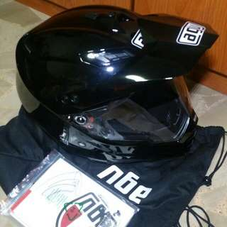 Agv Ax-8 Dual Evo Helmet Size L
