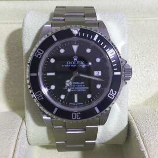 WTS Highly Collectible Discontinued Rolex Sea Dweller 16600 Z-Series