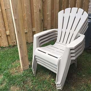 Adirondack Plastic Lawn Chairs