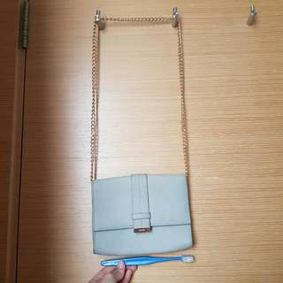 Authentic Hugo Boss Hugo Leather Chain Bag - Good For Party And Clubbing