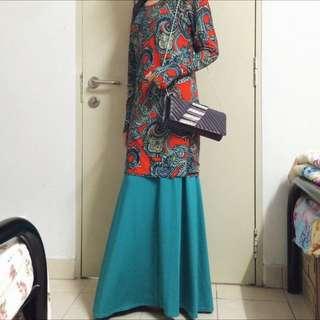 (REDUCED) Baju Kurung Lycra