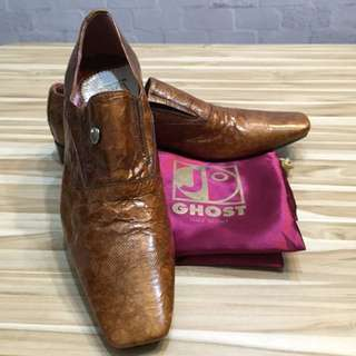 Jo GHOST Hand-Stitched Leather Shoes