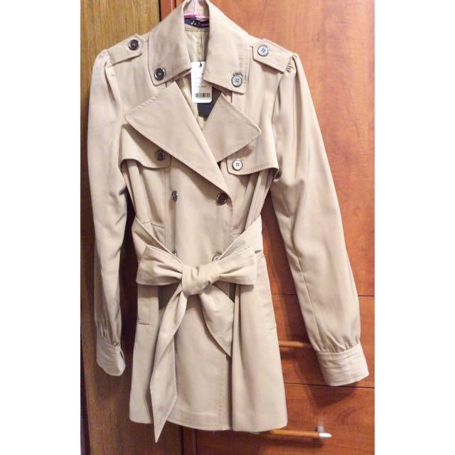 長版顯瘦風衣服外套