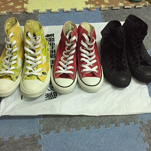 (正版)帆布鞋 3款
