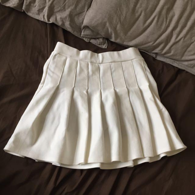 百摺裙 內含安全褲