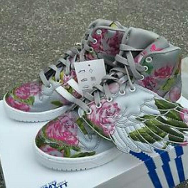 d4192c82c5d2 Adidas Jeremy Scott Wings Reflective Floral