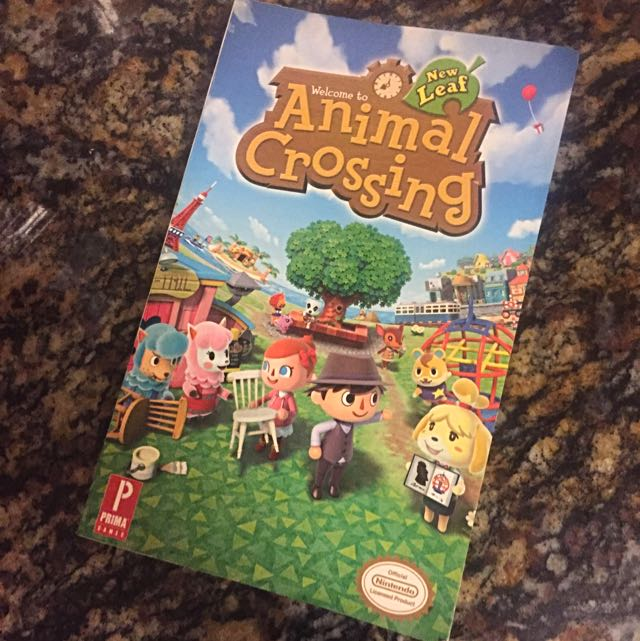 Animal Crossing New Leaf (Prima Official Game Guide)