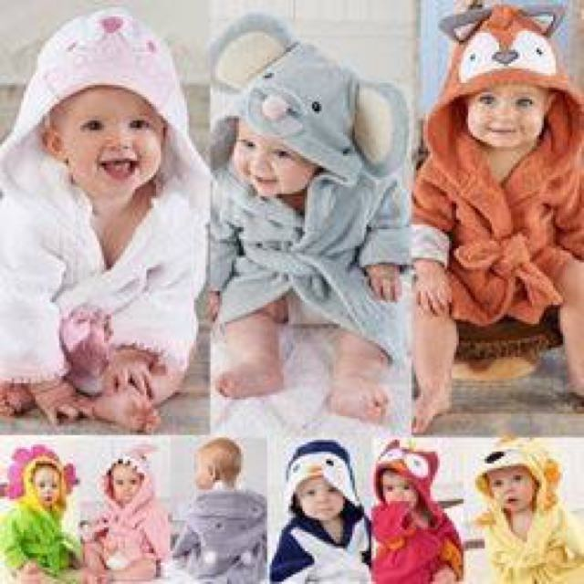 Baby Fun Animal Bathrobes