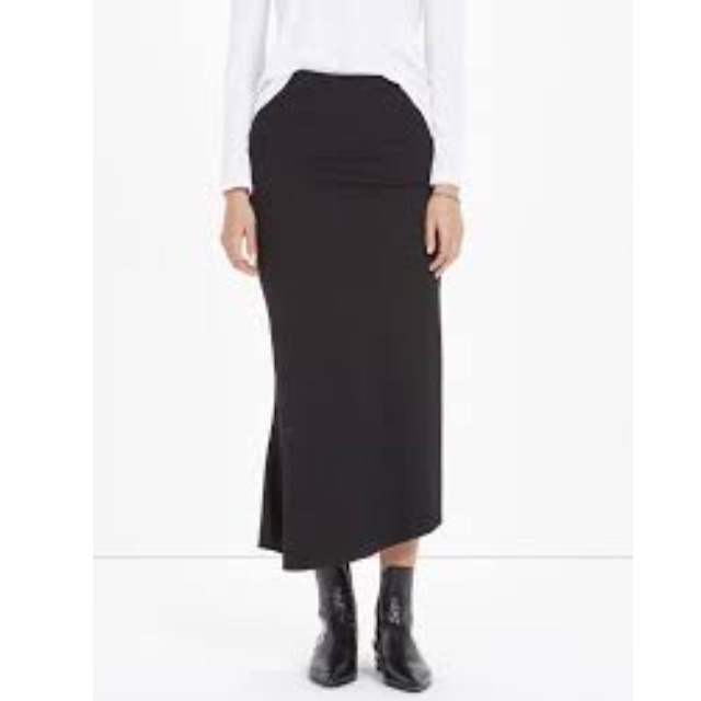 Bassike Stretch Rib Tubular Skirt Sz 3