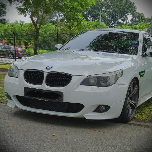BMW E60 M Sport Front Bumper, Car Accessories on Carousell