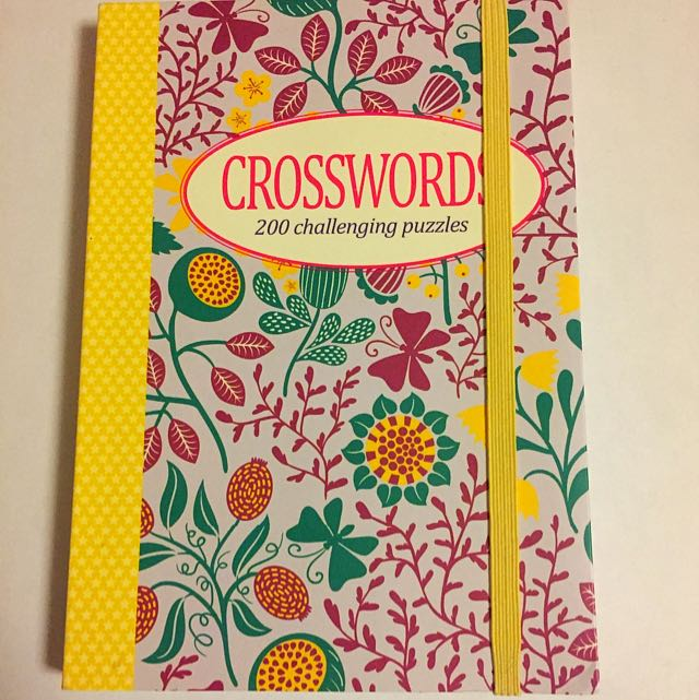 Book Of Crossword Puzzles