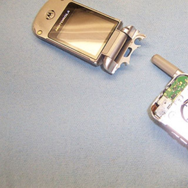Brand New Broken Flip Phone