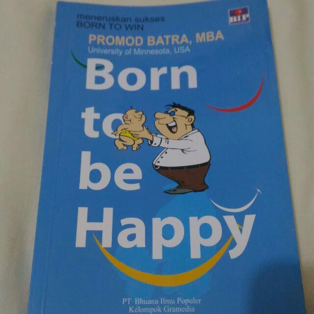 Buku Born To Be Happy