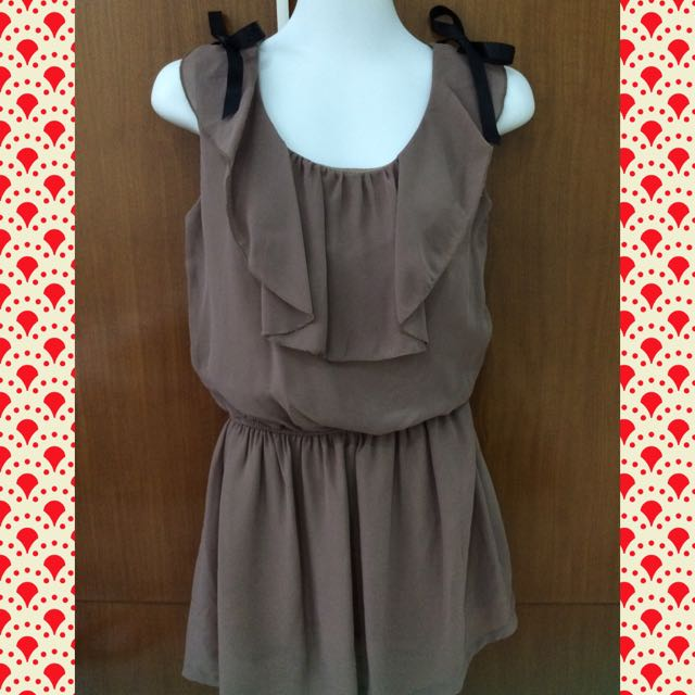 Chiffon Mocca Dress