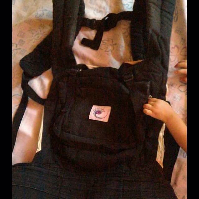 Ergo Baby Carrier W/ Free Drool Pads