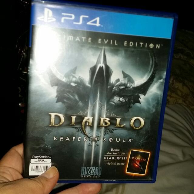 For Sale: Ps4 Diablo