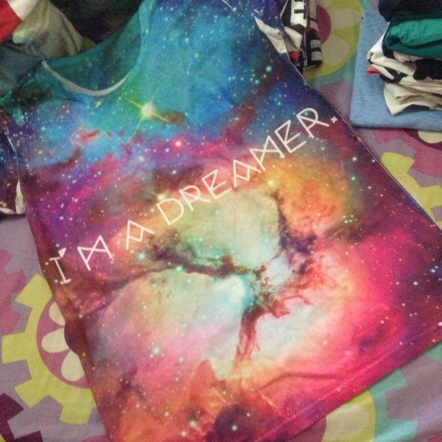 "Galaxy ""I'm A Dreamer"" T-Shirt"