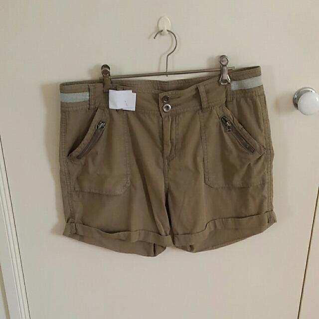 Glassons Khaki Shorts