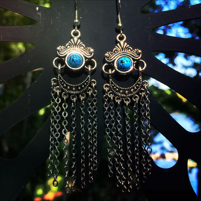 Handcrafted Dangle Earrings