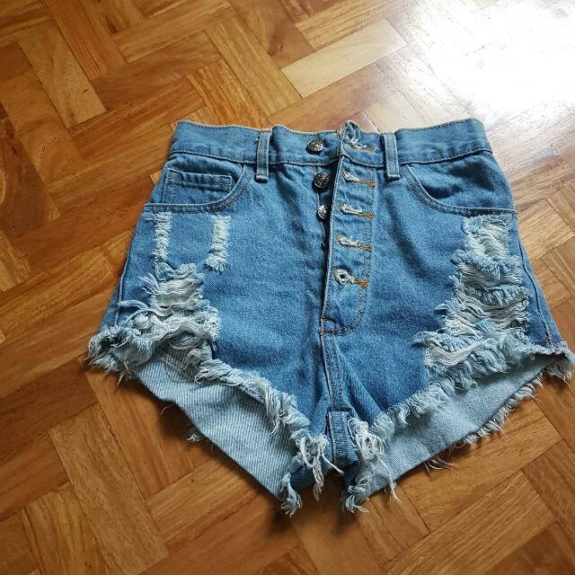 HW Ripped Shorts