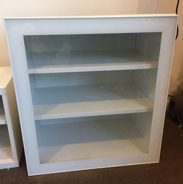 Ikea besta Glassvik Shelf