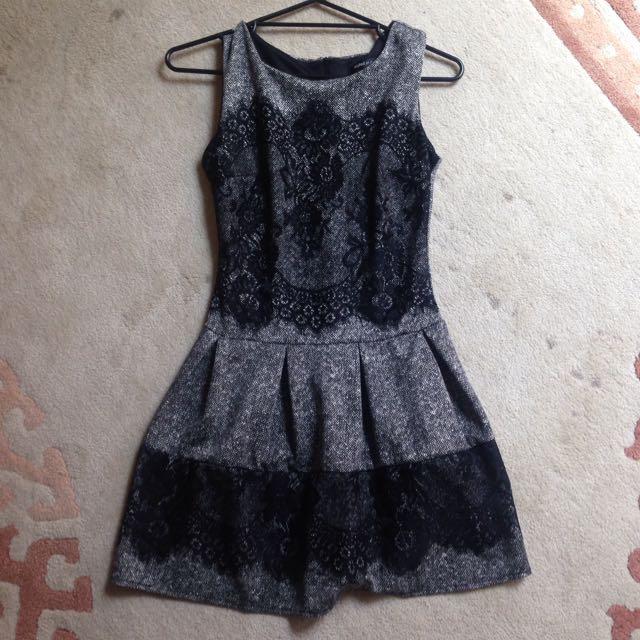 Italian Designed Black Dress