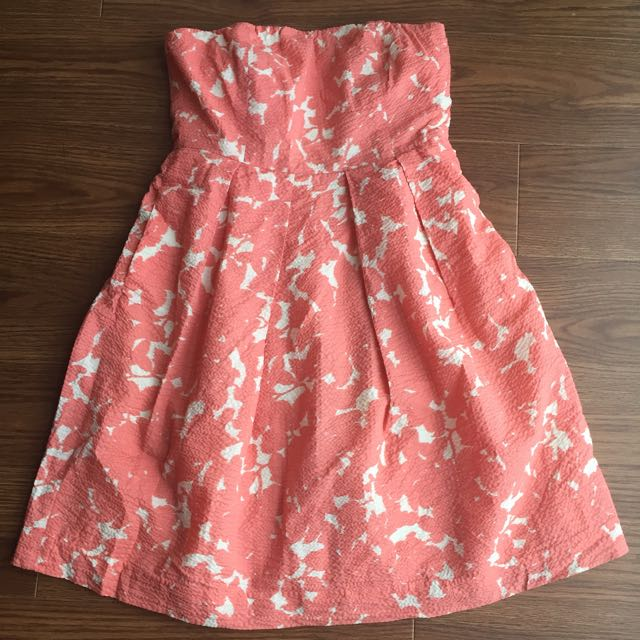Jcrew size 6 Strapless Cotton Dress
