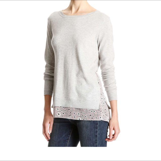 Joe fresh Fooler Hem Sweater