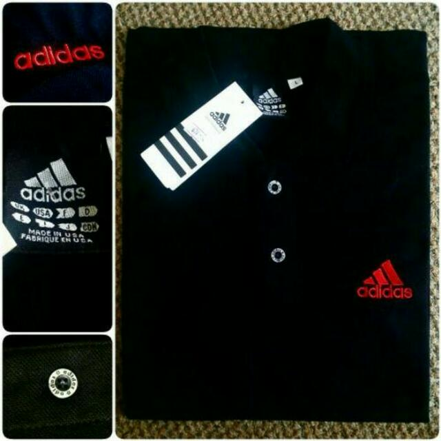 Kaos Kerah Merk Adidas