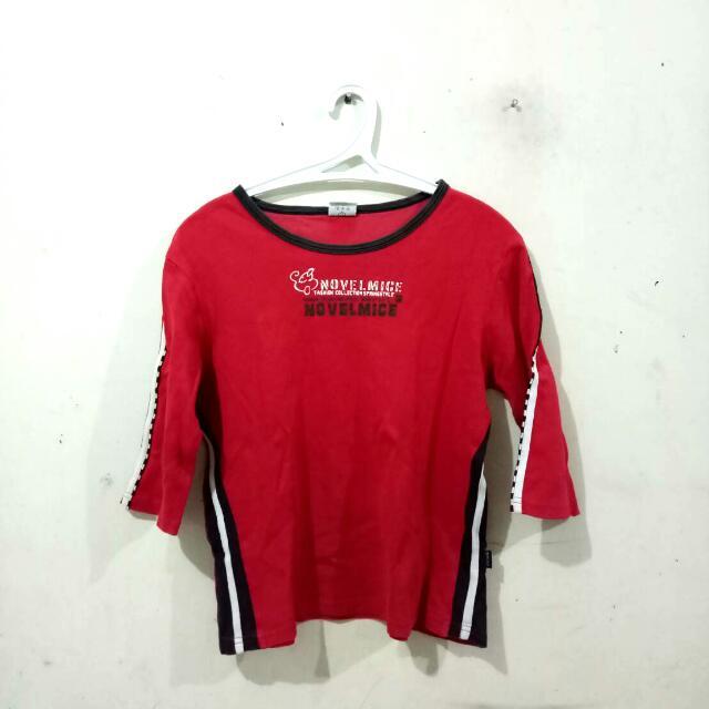(REPRICED) Kaos Merah