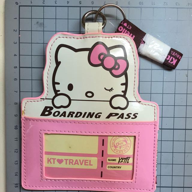 【票卡夾】Kitty 識別證 /票卡夾