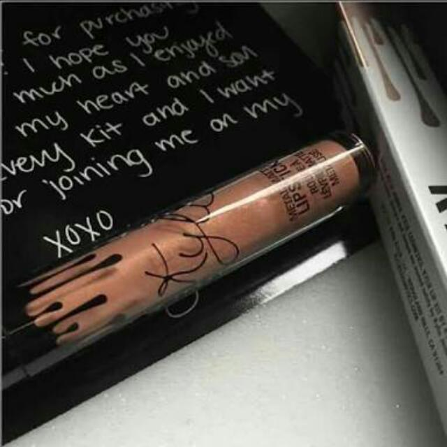 Kylie Cosmetics Matte Metallic Heir Authentic
