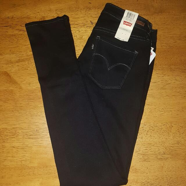 Levi's Legging Black Jeans