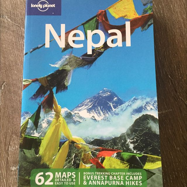 Lonely Planet Nepal Travel Book