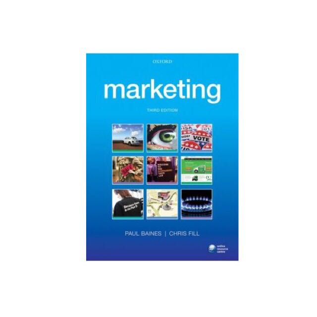 Marketing 3e by paul baines chris fill books stationery photo photo photo photo photo fandeluxe Image collections