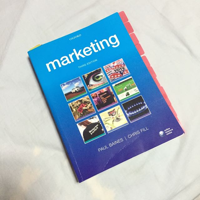 Marketing 3e by paul baines chris fill books stationery marketing 3e by paul baines chris fill books stationery textbooks on carousell fandeluxe Image collections
