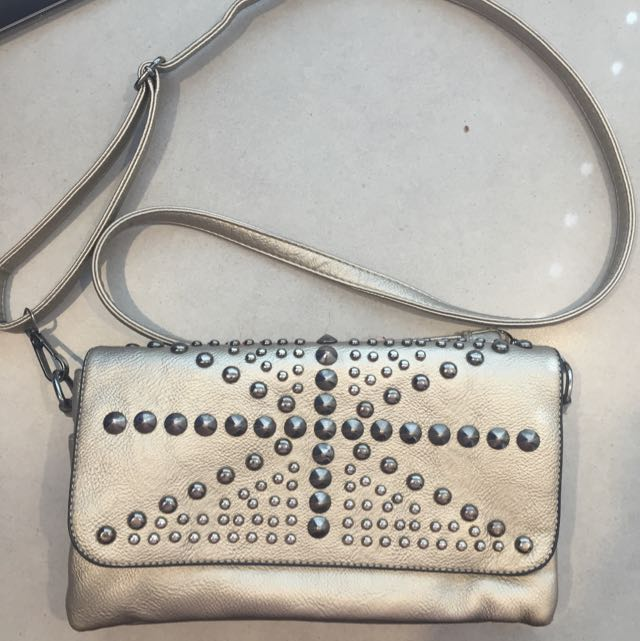 Metallic Gold Handbag