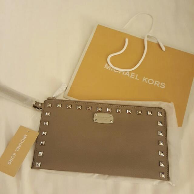 New Authentic Michael Kors Clutch Bag