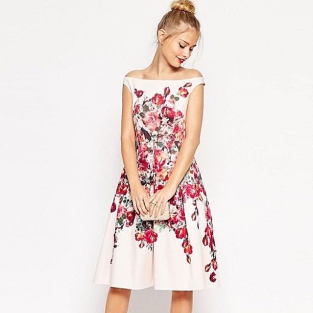 Perfect floral bridal kinda dress (VOL1)