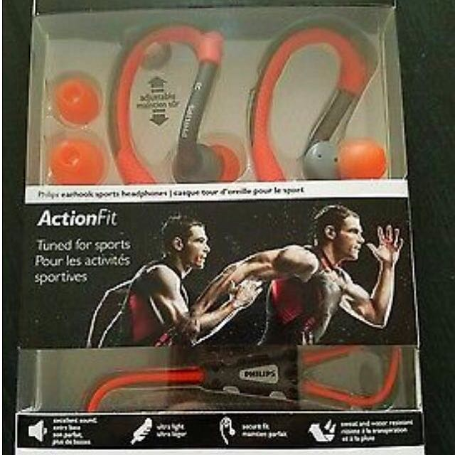 Philps Earphone Action Fit