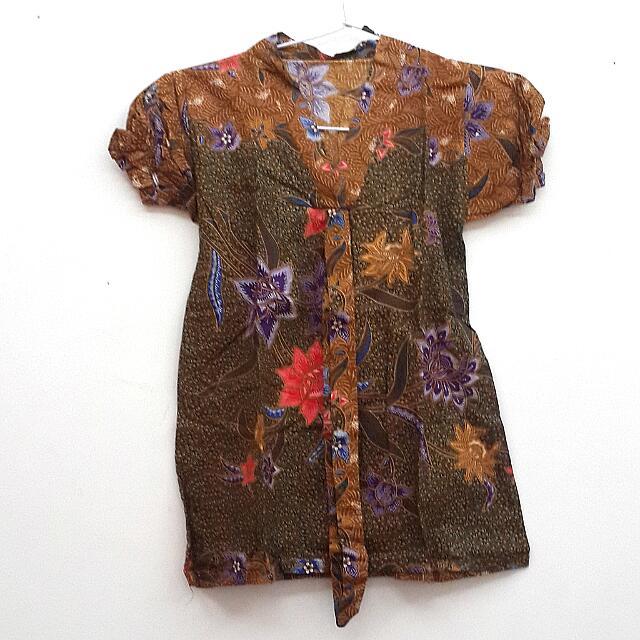 Puffy-hand Batik