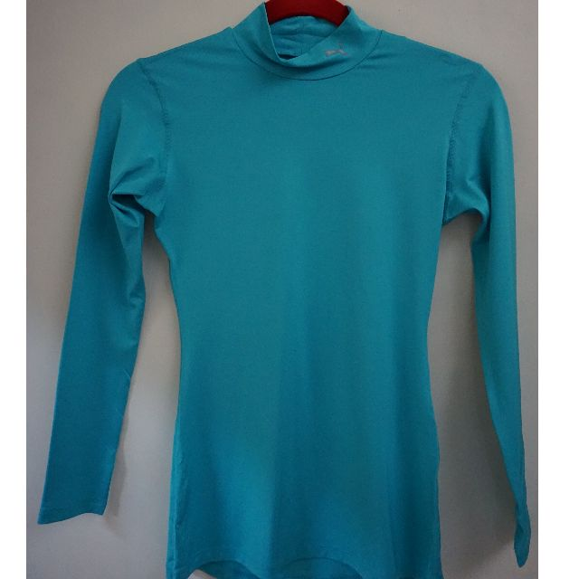 f76f348b4cb Puma Compression Turquoise Color Long sleeve Women sportswear on Carousell