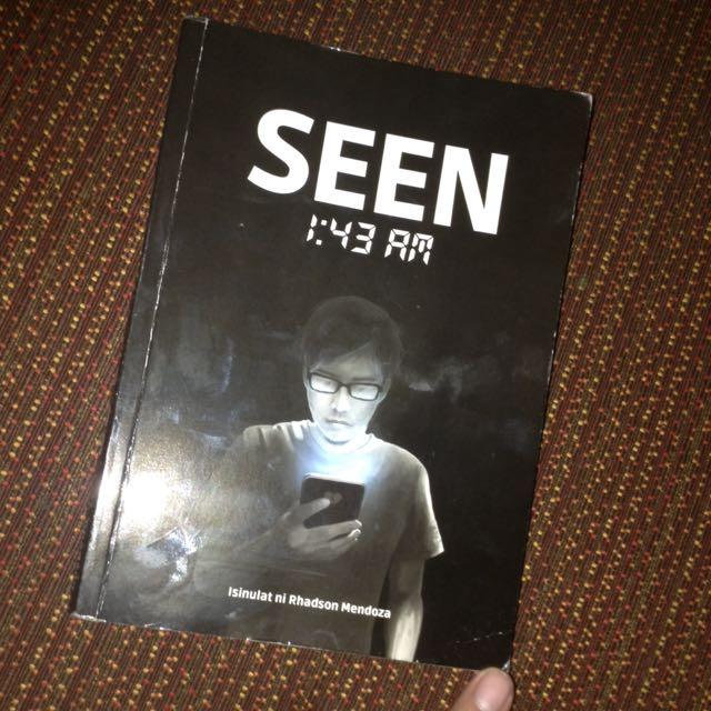 Seen 1:43 By Rhadson Mendoza